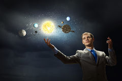 Mysteries of space Royalty Free Stock Photography