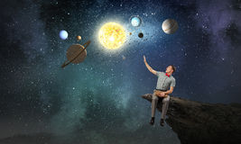 Mysteries of space Stock Photos