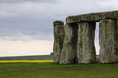 Mysteries of Stonehenge. Ancient Stonehenge near Salisbury, England UK stock photography