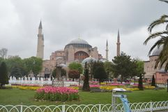 Hagia sophia in istambul royalty free stock photo