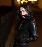 Mysterious beautiful girl. Royalty Free Stock Photos