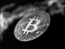 Mysterious Bitcoin Stock Photography