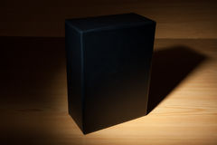 Mysterious black box in dark Royalty Free Stock Photos