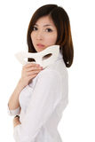 Mysterious business woman Stock Images