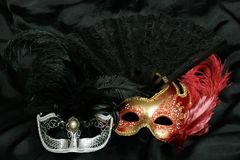 Mysterious carnival mask Royalty Free Stock Photography