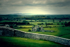Mysterious castle near Rock of Cashel Royalty Free Stock Image