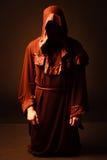 Mysterious Catholic monk Stock Photos