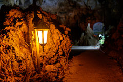 Mysterious cave on ishigaki Island. Japan Royalty Free Stock Images