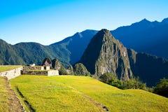 Mysterious city - Machu Picchu, Peru,South America Royalty Free Stock Photos