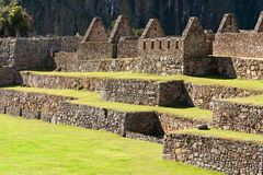 Mysterious city - Machu Picchu, Peru,South America Royalty Free Stock Image