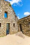 Mysterious city - Machu Picchu, Peru,South America. The Incan ruins. Stock Images