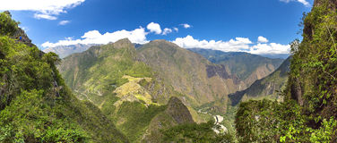 Mysterious city - Machu Picchu, Peru,South America. The Incan ruins Royalty Free Stock Photos