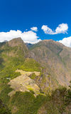 Mysterious city - Machu Picchu, Peru,South America. The Incan ruins. Stock Photography