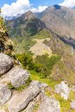 Mysterious city - Machu Picchu, Peru,South America. The Incan ruins. Royalty Free Stock Photos