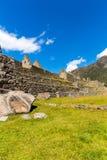 Mysterious city - Machu Picchu, Peru,South America. The Incan ruins Stock Image