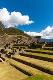 Mysterious city - Machu Picchu, Peru,South America. The Incan ruins. Royalty Free Stock Image