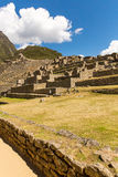 Mysterious city - Machu Picchu, Peru,South America. The Incan ruins. Royalty Free Stock Photography