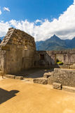 Mysterious city - Machu Picchu, Peru,South America. The Incan ruins. Royalty Free Stock Photos