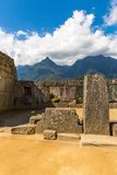 Mysterious city - Machu Picchu, Peru,South America. The Incan ruins. Royalty Free Stock Image