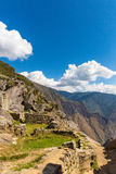 Mysterious city - Machu Picchu, Peru,South America. The Incan ruins. Stock Images