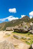 Mysterious city - Machu Picchu, Peru,South America. The Incan ruins Royalty Free Stock Photography