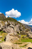 Mysterious city - Machu Picchu, Peru,South America. The Incan ruins Stock Photography