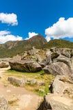 Mysterious city - Machu Picchu, Peru,South America. The Incan ruins. Stock Photos