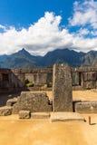 Mysterious city - Machu Picchu, Peru,South America. The Incan ruins. Stock Photo