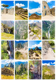 Mysterious city - Machu Picchu, Peru,South America. Stock Photography