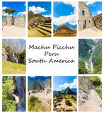 Mysterious city - Machu Picchu, Peru,South America. Royalty Free Stock Photos