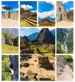 Mysterious city - Machu Picchu, Peru,South America. The Incan ruins. Stock Photography
