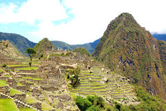 Mysterious city of Machu Picchu, Peru. Royalty Free Stock Photo