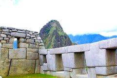 Mysterious city of Machu Picchu, Peru. Royalty Free Stock Image
