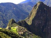 Mysterious city of Machu Picchu, Peru. Royalty Free Stock Photo