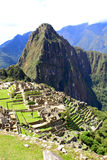 Mysterious city of Machu Picchu, Peru. Stock Image