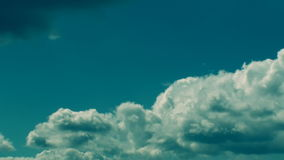 Mysterious Clouds 30s stock footage