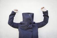 Mysterious coat Stock Photos