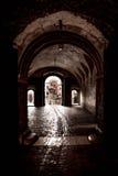 Mysterious corridor Royalty Free Stock Photo