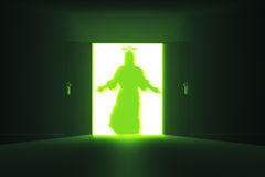 Mysterious Door 13 Jesus HR Royalty Free Stock Photos