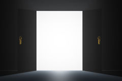 Mysterious Door Stock Photography