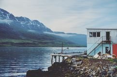 Mysterious Fjord Royalty Free Stock Image