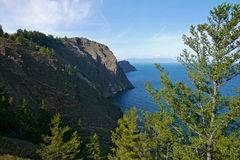The mysterious island of Olkhon on lake Baikal. The landscape of Royalty Free Stock Image