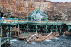 Mysterious Island at Tokyo DisneySea Royalty Free Stock Photos