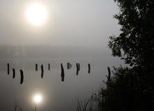 Mysterious lake Royalty Free Stock Photos