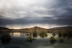 Mysterious lake Royalty Free Stock Photo