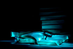 Mysterious library. Royalty Free Stock Photography