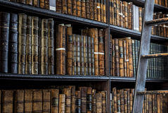 Mysterious Library Royalty Free Stock Images