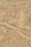 Mysterious lines in Nazca, Peru Stock Photo