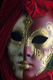 Mysterious mask. Mysterious venetian mask stock photos