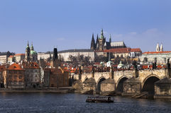 Mysterious medieval Prague Royalty Free Stock Photo